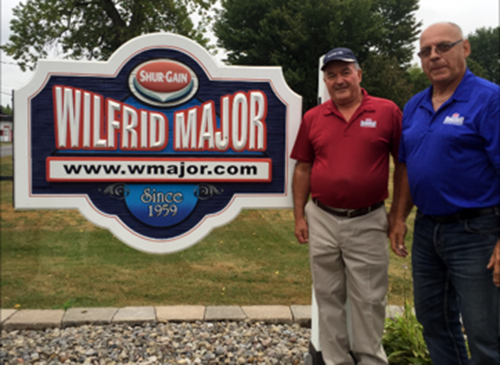 Wilfrid Major Ltd. sign with Normand and André