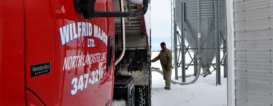 Wilfrid Major Ltée camion